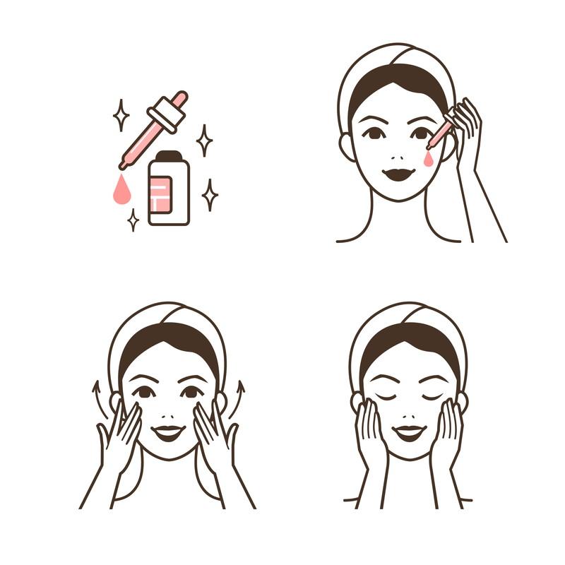 美肌のために洗顔